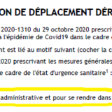 attestation déplacement avocat covid 19